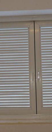 Janela de PVC com isolamento acústica