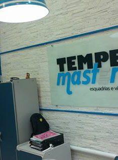Loja Botafogo Tempermaster Esquadrias de PVC